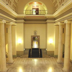 The Atrium Of Freemasons Hall Manchester