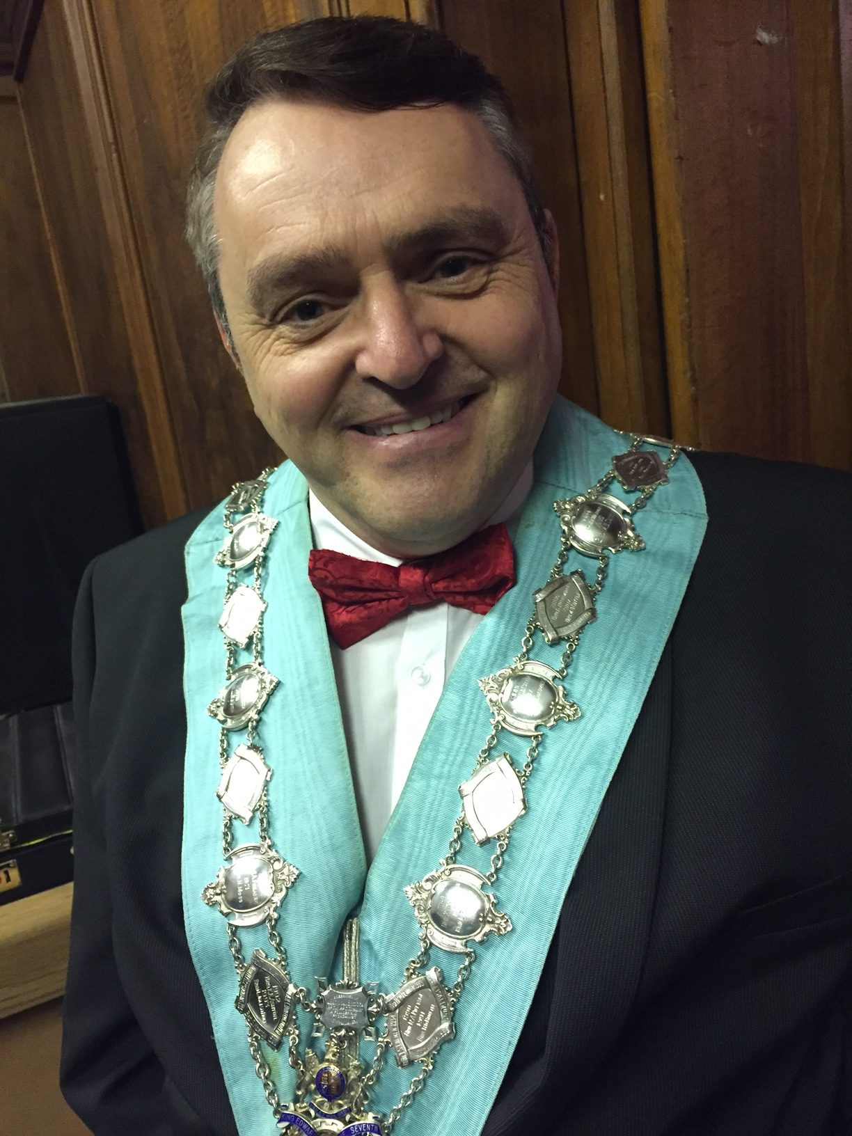 WBro. Howard Coles, WM KE7 Lodge 3329